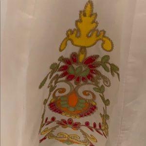 Nygard XL skirt  All Cotton Embroidered